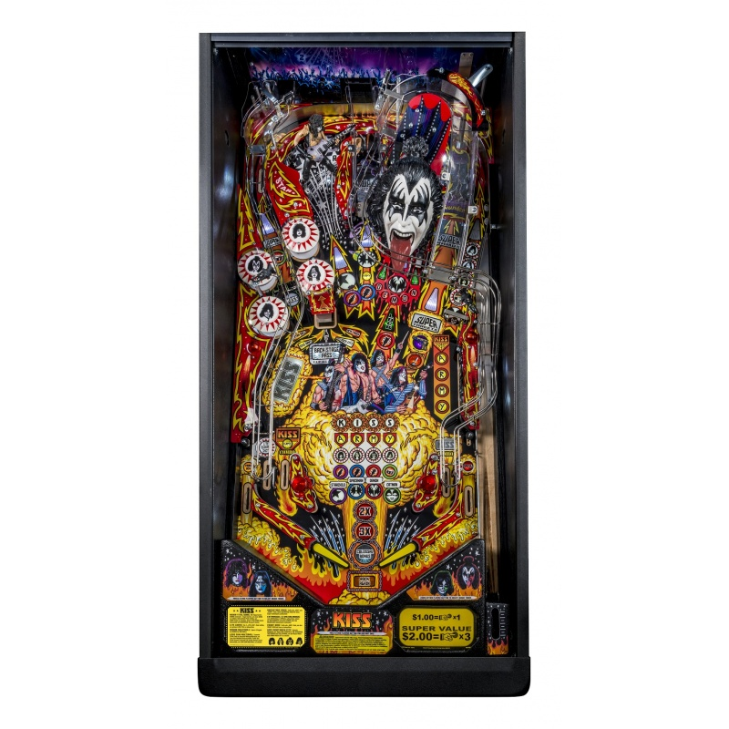 kiss pro stern pinball deutsche version. Black Bedroom Furniture Sets. Home Design Ideas