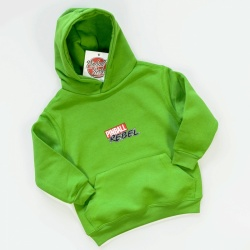 Kids Hooded Sweat Pinball Rebel / Green