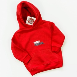 Kids Hooded Sweat Pinball Rebel / Red
