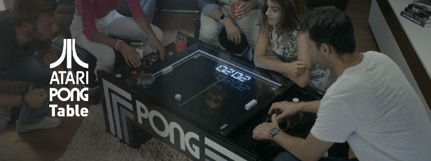 Atari PONG Table Promo Video