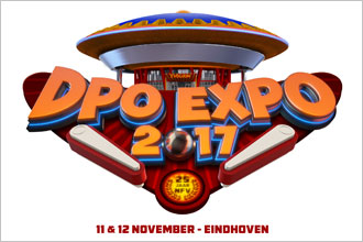 Dutch Pinball Open – DPO EXPO 2017 in Eindhoven