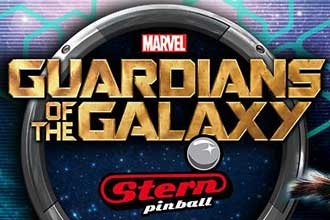 Guardians of the Galaxy nächster Stern Pinball