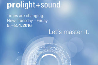 Prolight+Sound 2016 in Frankfurt