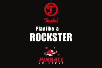 Teufel meets Pinball - Play like a ROCKSTER!