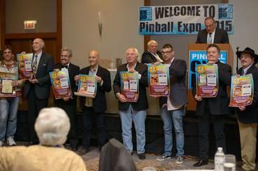 Stars der Pinball Expo 2015.