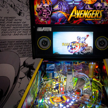 Avengers: Infinity Quest LE im Showroom