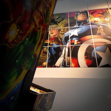 Avengers: Infinity Quest Pro im Showroom