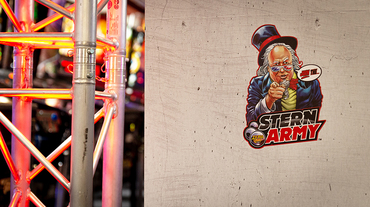 Official Stern Army Location im Pinball Universe