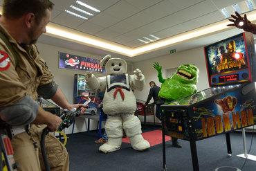 Slimer und Marshmallow Man im Visier der Ghostbusters Niedersachen