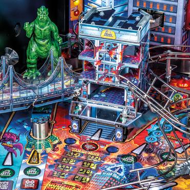 Godzilla Premium Detail vom Spielfeld: Wolkenkratzer mit fünf Stockwerken