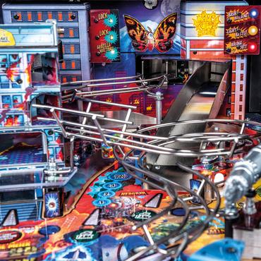 Detail vom Spielfeld beim Godzilla Premium