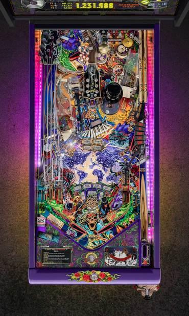 Spielfeld vom Guns N' Roses Collectors Edition (CE)