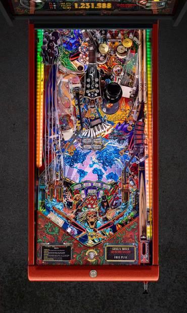 Spielfeld vom Guns N' Roses Limited Edition (LE)