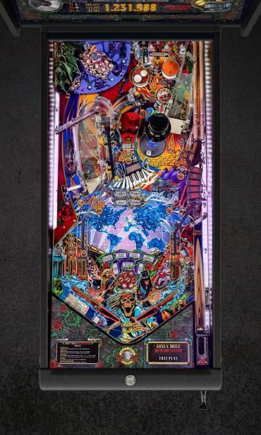 Spielfeld vom Guns N' Roses Standard Edition (SE)