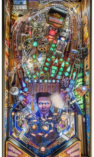 Spielfeld vom Houdini Master of Mystery