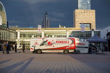Bye bye Frankfurt: Danke für Eurer tolles Feedback und großes Interesse am Flippern!