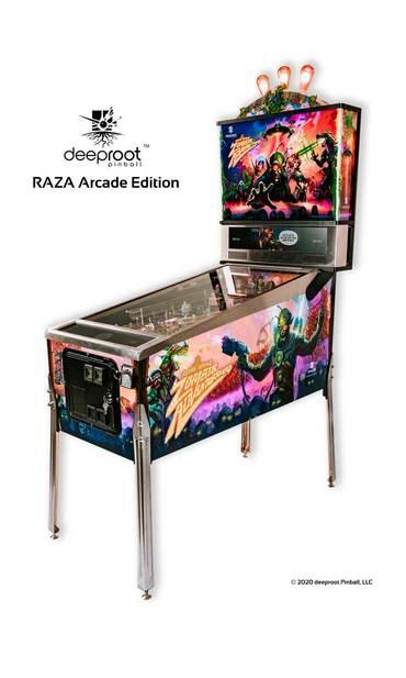 RAZA Arcade Edition Kabinett rechts