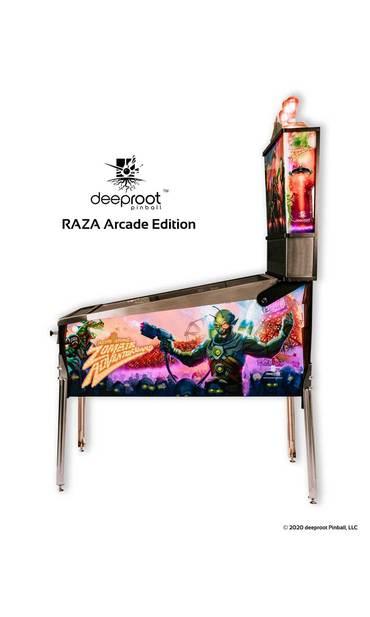 RAZA Arcade Edition Kabinett seitlich