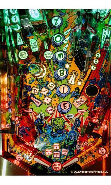 RAZA Arcade Edition Spielfeld