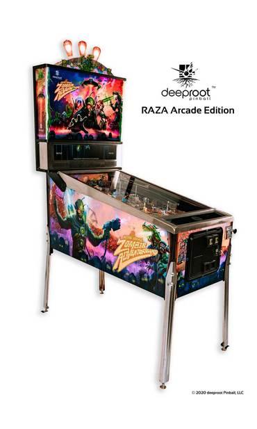 RAZA Arcade Edition Kabinett links