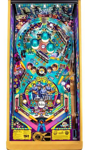 Spielfeld vom The Beatles Beatlemania Gold Edition