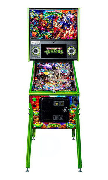 Kabinett vorne vom Teenage Mutant Ninja Turtles Limited Edition (LE)