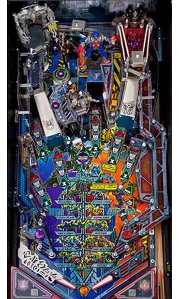 Spielfeld vom Transformers Decepticon LE