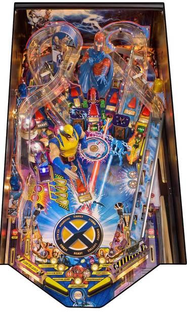 Spielfeld vom X-Men LE