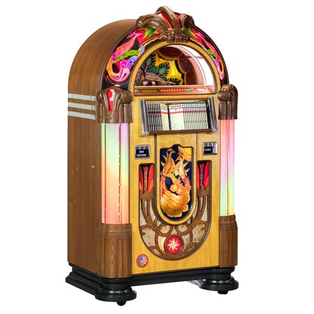 CD Bubbler Jukebox Peacock