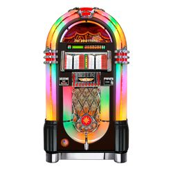 Vinyl 45 Bubbler Jukebox (Black)