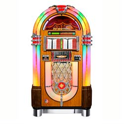Vinyl 45 Bubbler Jukebox Walnuss