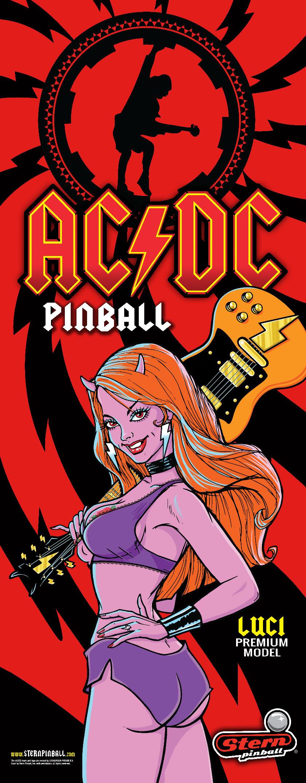 AC/DC Luci Pinball Banner