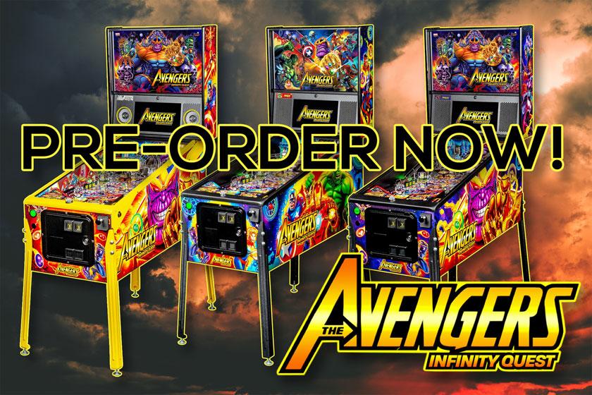Jetzt vorbestellen: Avengers Infinity Quest