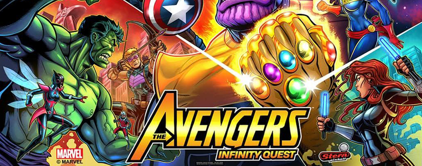 Coming next: Avengers Infinity Quest!