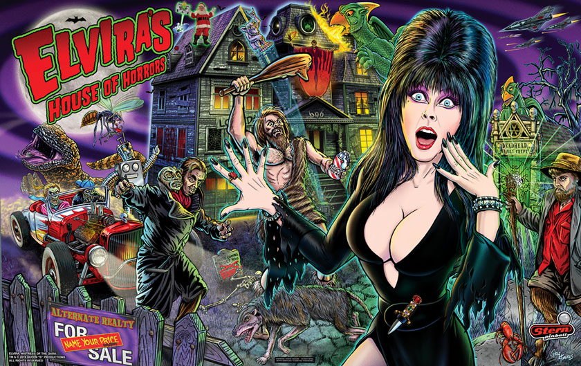 Elvira's House of Horrors von Stern Pinball