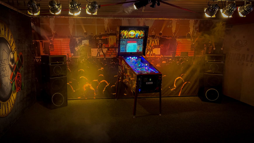 Guns N' Roses LE von JJP im Showroom