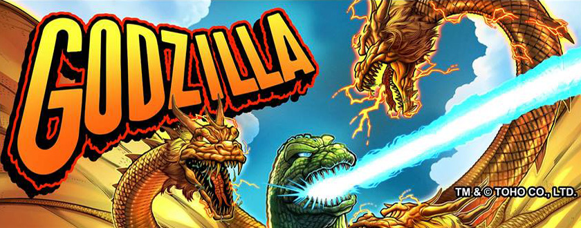 Nächster Stern Pinball: Godzilla!