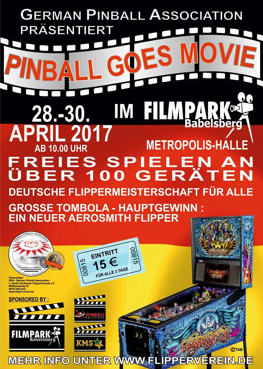 GPO 2017 Pinball Goes Movie