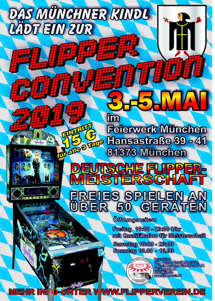 GPO19 - GPA Flipper Convention 2019 München