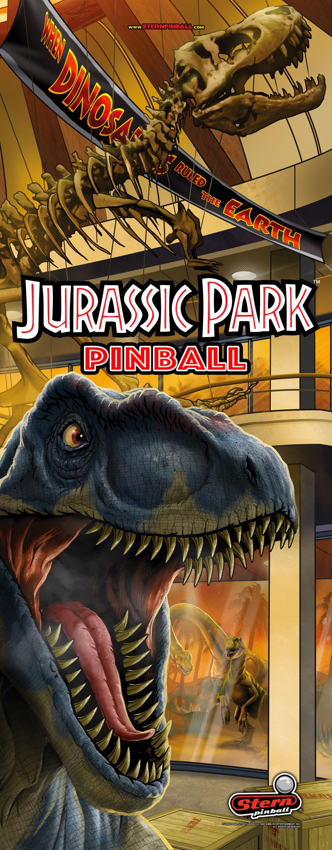Jurassic Park Pinball Banner