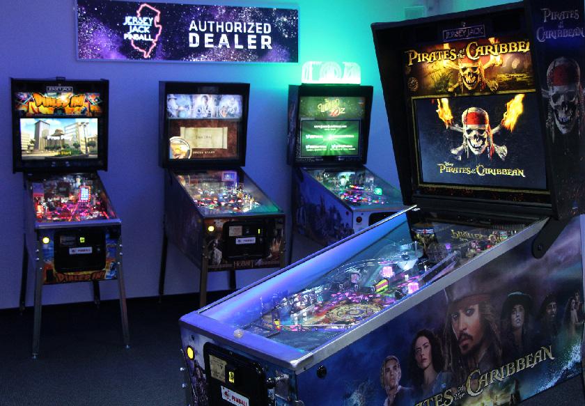 JJP Flipperautomaten bei Pinball Universe