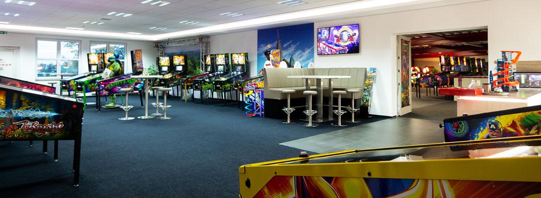 Fachgeschäft für Flipper- und Arcade-Automaten