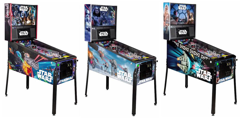 STAR WARS Stern Pinball Pro, Premium und Limited Edition LE