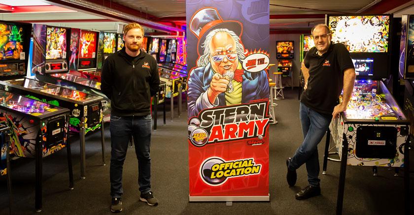 Official Stern Army Location: Sebastian und Dirk freuen sich, Dich zum nächsten Stern Army Evening zu begrüßen