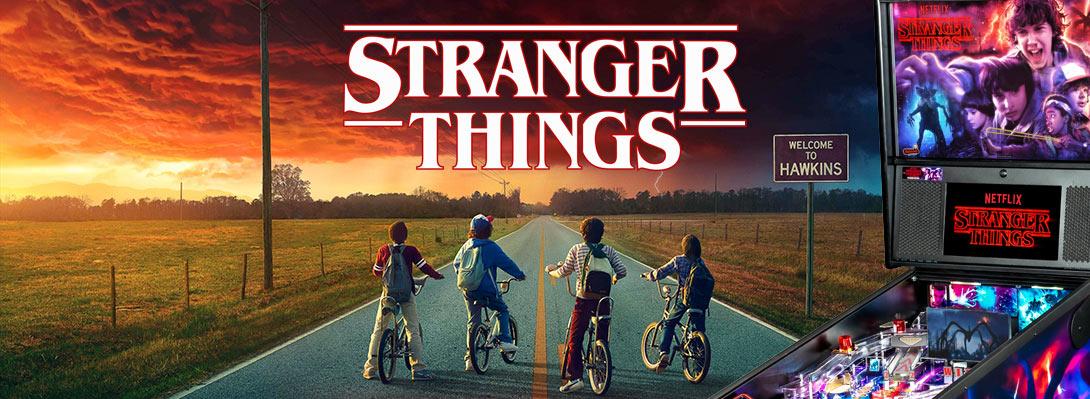 Stranger Things Flipperautomaten von Stern Pinball