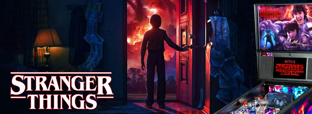 Coming next: Stranger Things von Stern Pinball