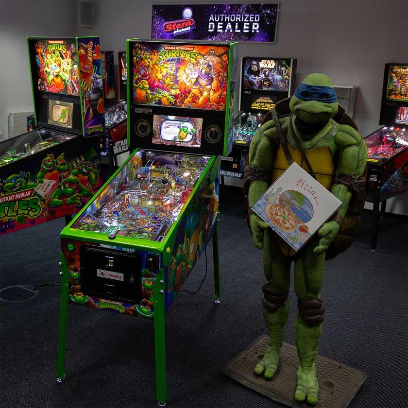 Teenage Mutant Ninja Turtles im Showroom